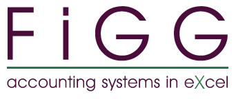 Figg, Excel Accounting Templates, Accounting Systems in Excel